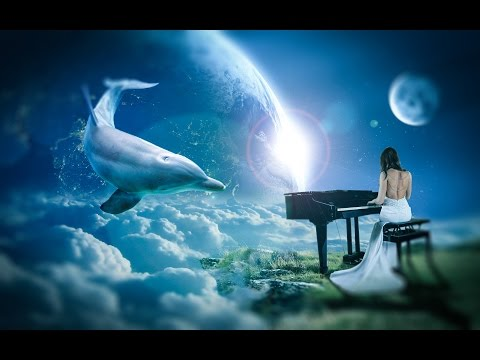 Beauty Pianist With Flying Dolphin - Photo Manipulation - Tool Photoshop CC