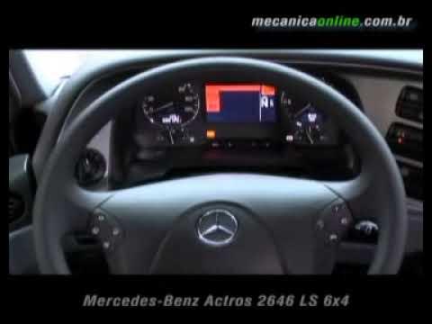 Mercedes Benz Actros 2646 Ls 6x4 Youtube