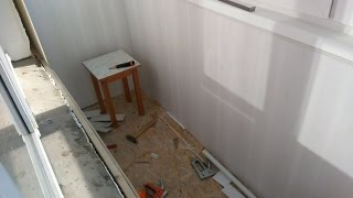 видео Обшивка балкона своими руками