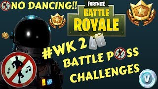 Fortnite - Battle Pass Challenge Week 2 - 7 Wailing Woods Chest Fast + All 13 Forbidden Location