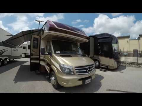 2019 Dynamax Isata 3 24CB Sprinter Motor Home with Cabernet Exterior Paint!