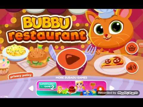 Playing Game - Bubbu Restaurant - Animal World