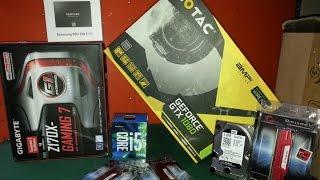 Gtx 1080 Amp!  i5 6400 Z170X Gaming 7 Pc Toplama