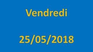 RESULTATS EURO MILLIONS DU 25/05/2018 !