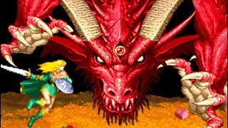 Dungeons & Dragons: Shadow over Mystara (Arcade) All Bosses (No Damage)