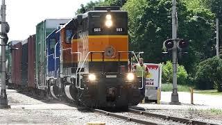 TROUBLED RAILROAD CROSSING IN NO TRAIN HORN ZONE! | Jason Asselin