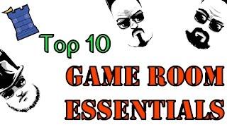 Top 10 Game Room Essentials