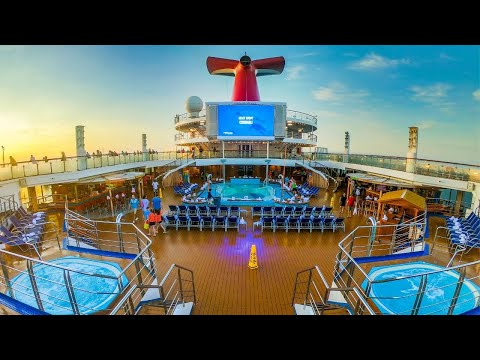 Carnival Victory Video Tour ~ Cruise Ship Review ~ Bow to Stern