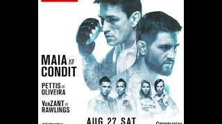UFC on Fox 21: Condit vs Maia Betting Preview - Premium Oddscast