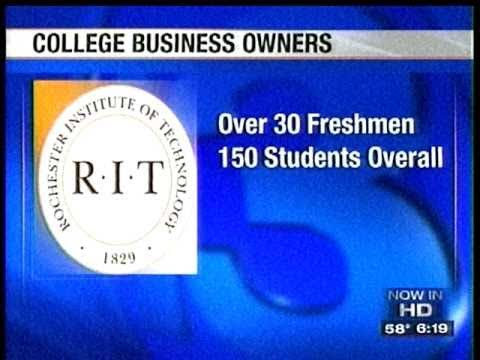RIT on TV News: Student Entrepreneurs