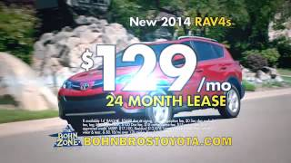 Great Deals on the 2014 RAV4 at Bohn Brothers Toyota!