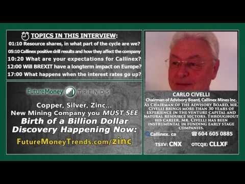 Carlo Civelli Interview: Building a Billion Dollar Giant Mining Company