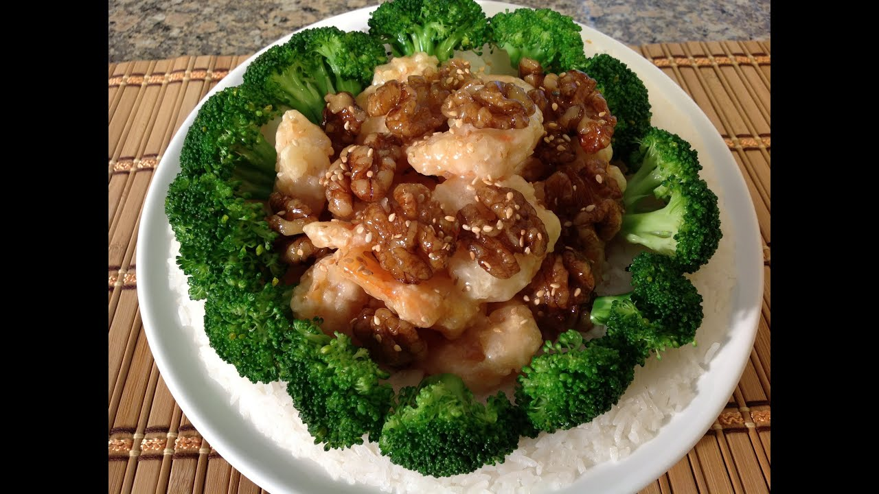 How To Make Honey Walnut Shrimp-Asian Food Recipes - YouTube