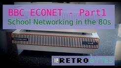 BBC Econet Part 1 - The school network of the 80's