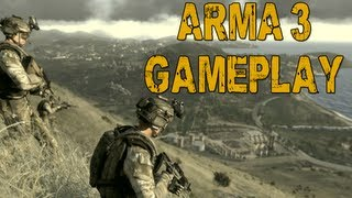 ARMA 3 Multiplayer Gameplay: Escape From Stratis (Alpha)