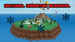 Surviving those disasters | ROBLOX Natural disasters