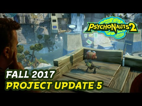 Psychonauts 2 // First Playable