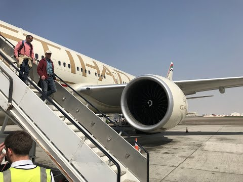 Trip Report: Etihad, Take off and landing ORD to AUH, Boeing 777-300ER, A6-ETJ