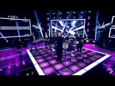 Robbie Williams - Candy live at The Voice of Denmark (2012-11-10)