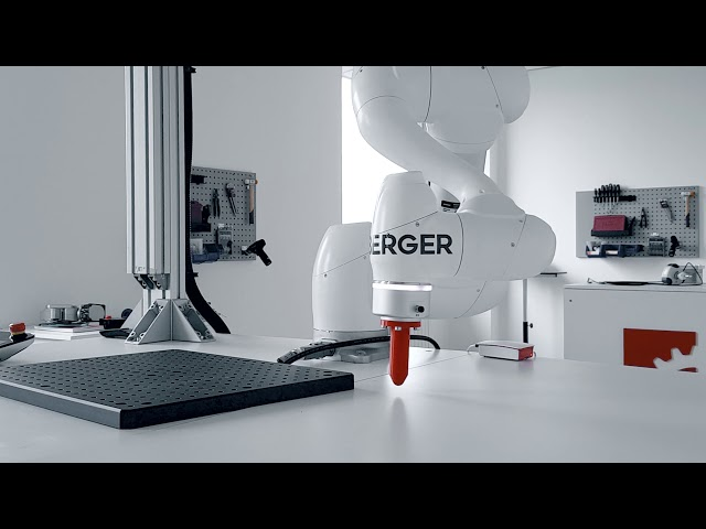 Doosan Robotics - Touching Feature by Homberger Spa