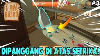 DIPANGGANG DI ATAS SETRIKA EPS 3!! Iam Bread Gameplay Android [INDONESIA]