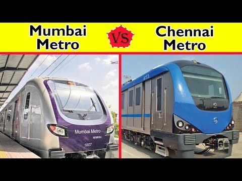 Mumbai Metro vs Chennai Metro Comparison