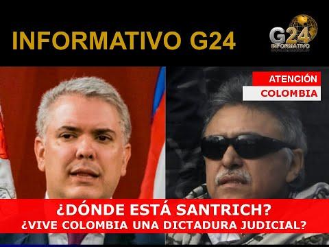 G24 #SANTRICH #VENEZUELA #COLOMBIA-ALERTAN DE UNA DICTADURA JUDICIAL-