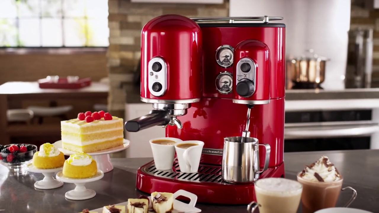 kitchen air movable islands for kitchenaid® pro line® series espresso maker - youtube