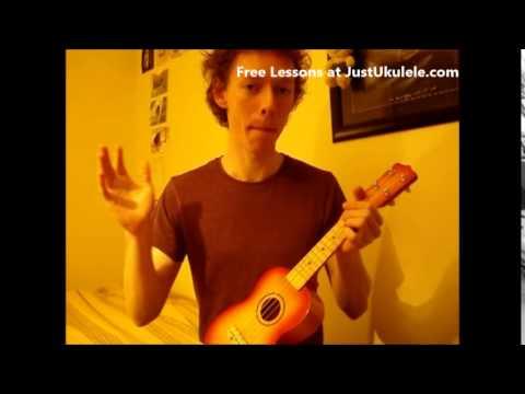 Ukulele Lesson 4 Chords Intermediate Tutorial Teenage Kicks Youtube