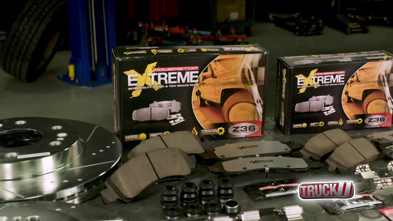 Why Trucks Need Better Brakes? Power Stop Z36-Extreme Truck & Tow Brake Kit