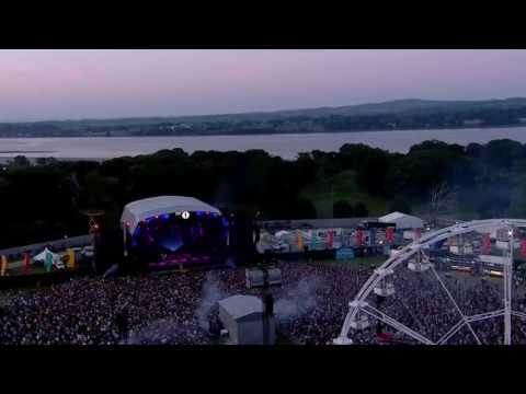 Coldplay - Paradise + Tiesto Remix live bbc radio 1's big weekend 2016