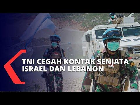 Viral! Kronologi Aksi TNI Cegah Kontak Senjata Tentara Lebanon Dan Israel