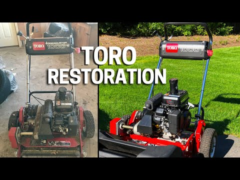 Toro Greens Mower for a Golf Course Lawn