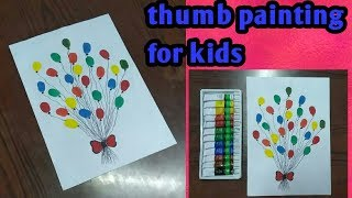 Fingerprint Balloons Card Practice Drawing Circles And Straight Lines For Balloons Cute Ideas Cute766