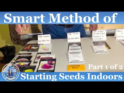 HD How to Start Seeds Indoors - Part 1 of 2