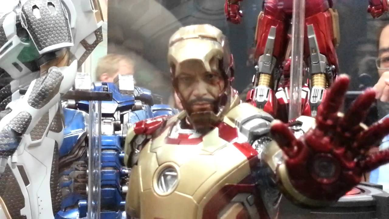 hot toys iron man mark 42 die cast 16 scale figure sdcc