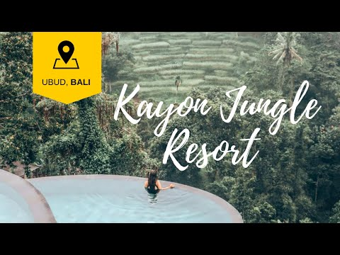 This is the brand NEW Kayon Jungle Resort in Ubud, Bali
