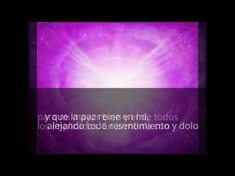 Oración del Perdón. Para activar la llama violeta
