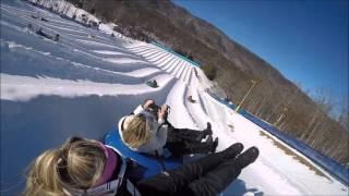 Snow Tubing - Snow Tubing Massanutten 2016