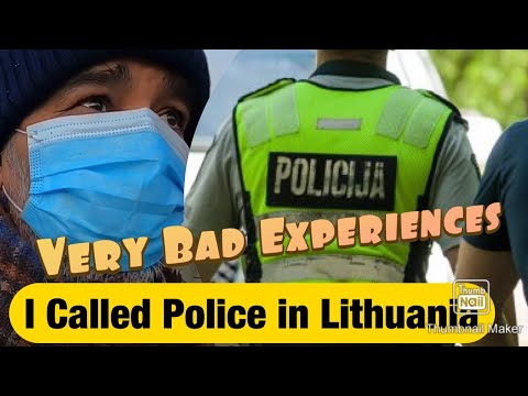 My Journey To Lithuania Part 2 || I told to call Police || No one wants to talk with Me in Lithuania