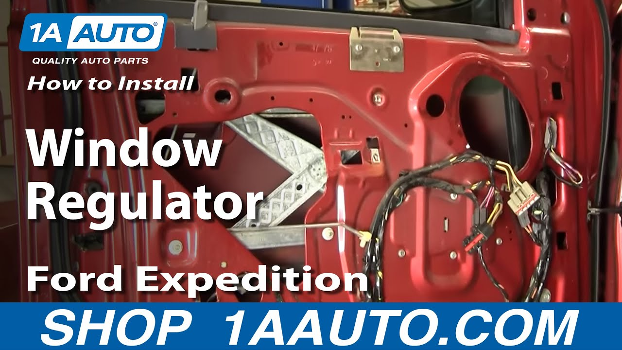 hight resolution of how to replace window regulator 97 03 ford expedition