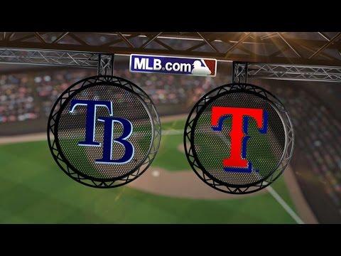 8/11/14: Smyly shows flair as Rays blank Rangers