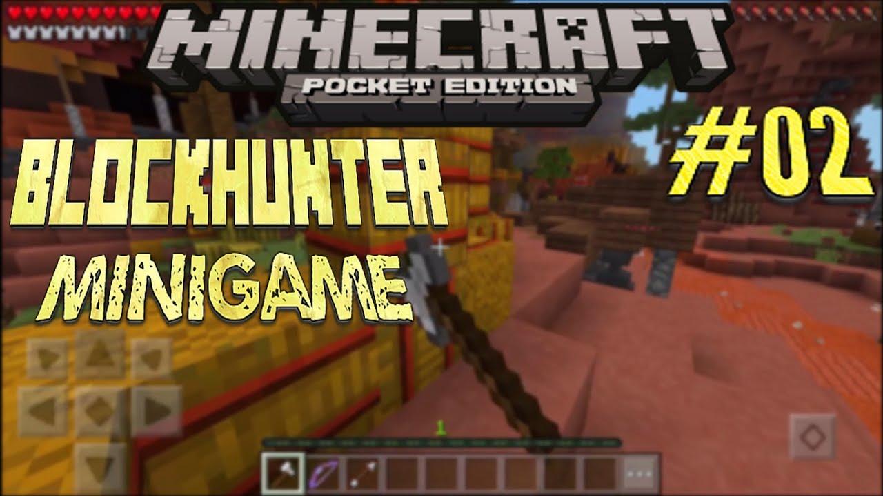Minecraft PE BlockHunter Minigame Auf Mineplex - Alphastein skin fur minecraft pe