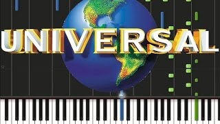 Universal Studios - Theme Song [Piano Cover Tutorial] (♫)