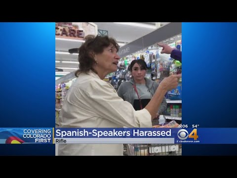 Woman Defends Spanish Speakers From Harassment At Colorado City Market