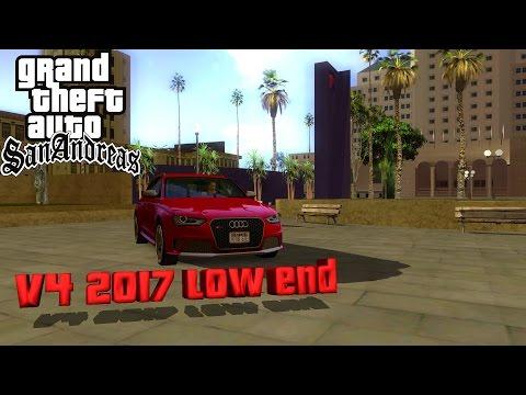 Gta San Andreas Graphics Mod 2017 Edition V4 Low-End