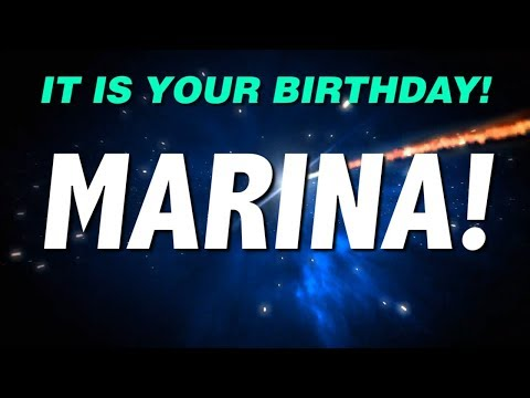 HAPPY BIRTHDAY MARINA! This is your gift.