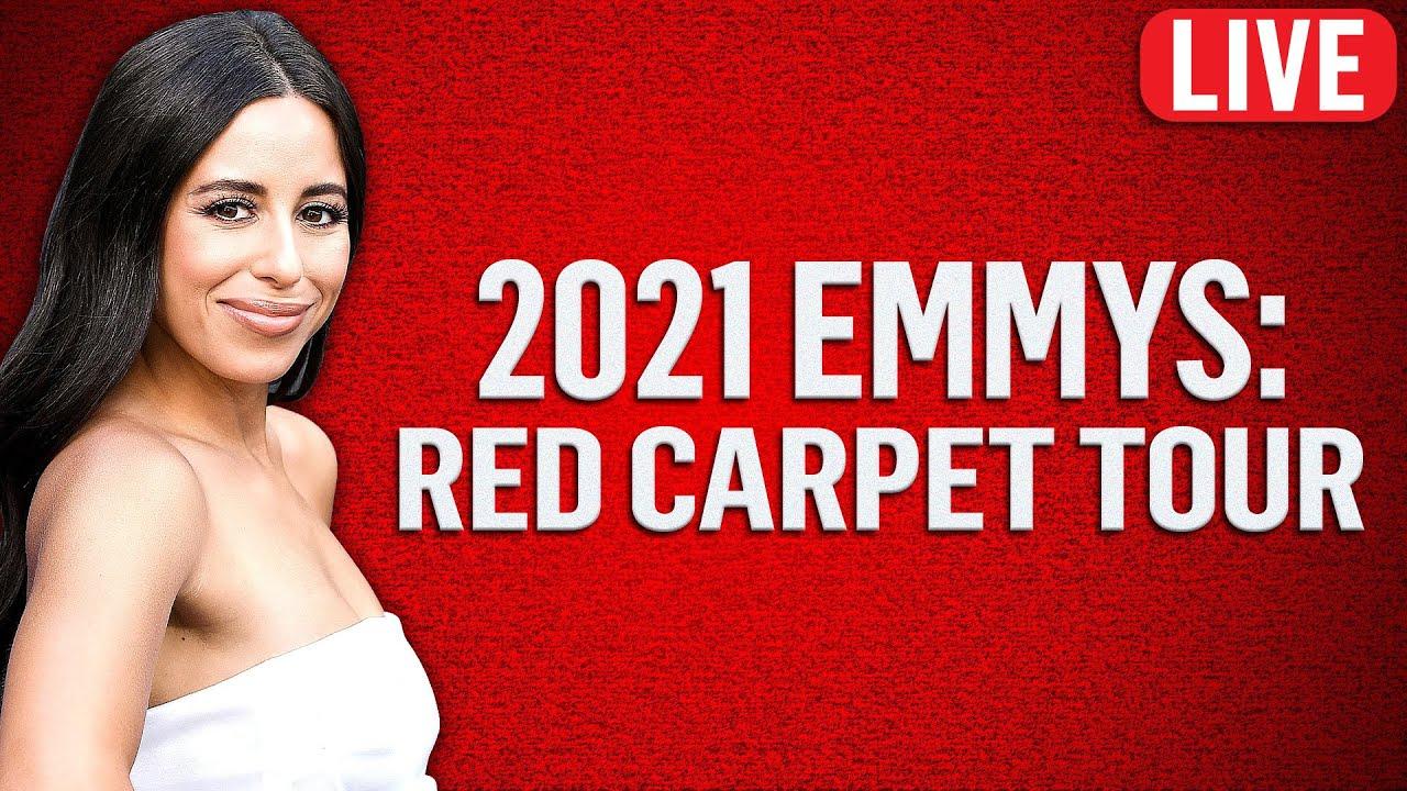 2021 Emmy Awards Red Carpet Tour | Live from E!