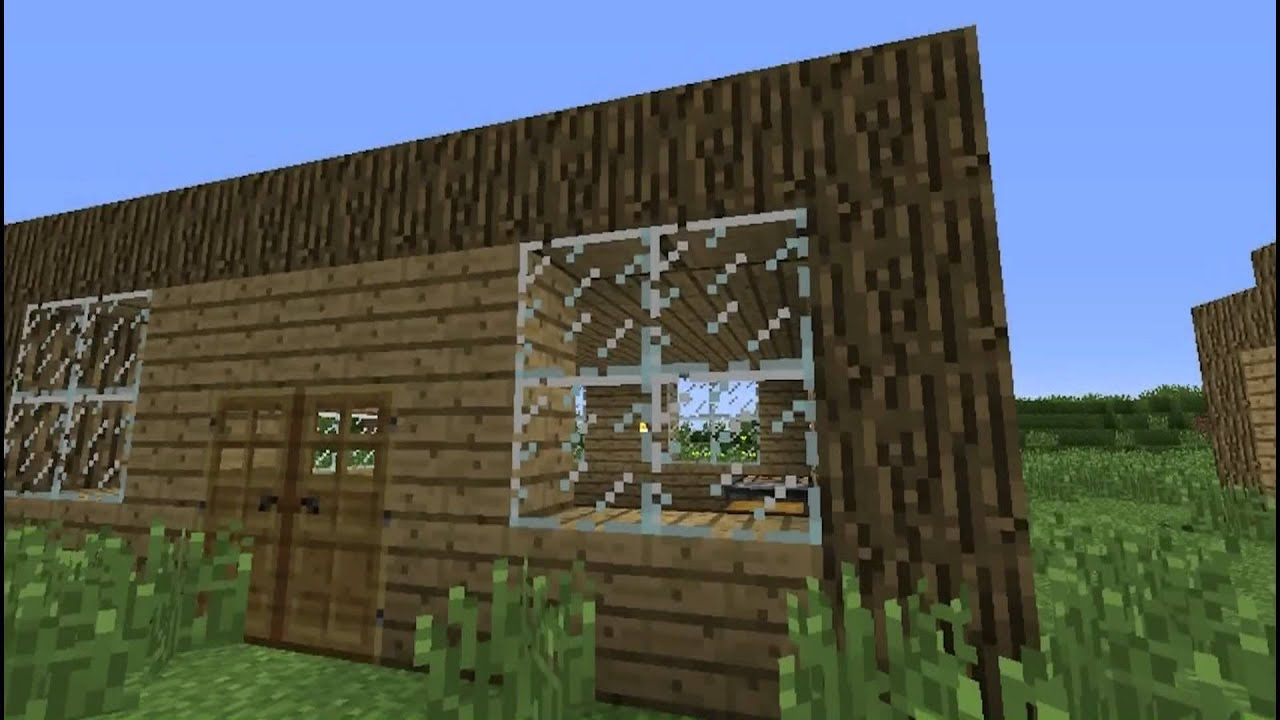 Minecraft Building Tutorials Beginners Guide To A Basic
