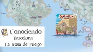 Conociendo Barcelona, La Rosa de Fuego